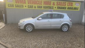 Vauxhall Astra 1.6i 16V Design 5dr £1295