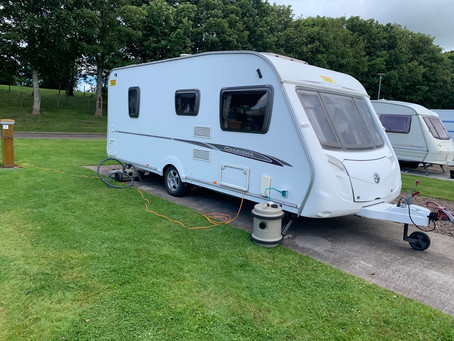 Swift charisma 4 berth with fixed bed £50 per night