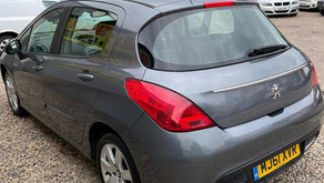 Peugeot 308 1.4 VTi 98 Active 5dr 2012 £1995