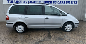Ford galaxy 1.9 Td lx 2005 7 seater £1395 or finance available