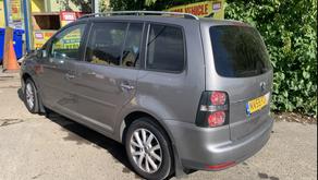 Volkswagen Touran diesel 7 seater £75 per week
