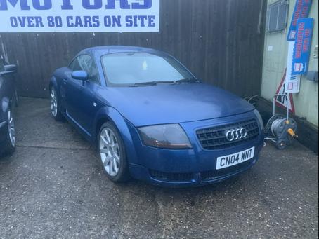 Audi TT Quattro £75 per week