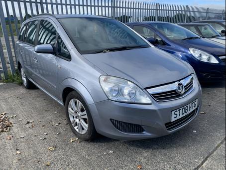 Vauxhall Zafira 1.6 petrol 7 seater £60