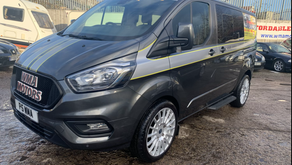 Ford transit custom 2.0 EcoBlue 130ps Low Roof D/Cab 300 Limited Van NO VAT  £21000
