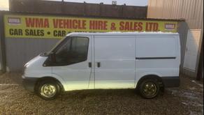 Ford transit Low Roof Van TDCi 85ps £3400