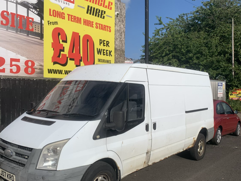Ford Transit Lwb £90 per week