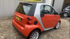 Smart Fortwo coupe Passion 2dr Auto £65 per week