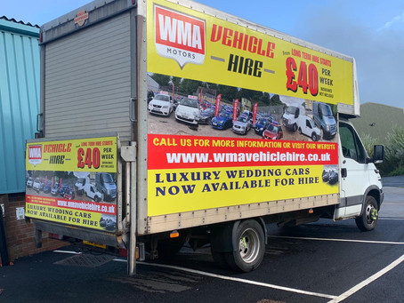 Luton van  SELF DRIVE LUTON  DAILY AND WEEKLY HIRE