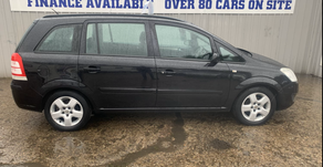 Vauxhall Zafira 1.8i Exclusiv 2008 £2095 or finance available
