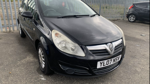 Vauxhall Corsa 1.0 petrol £40 per week