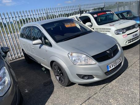 Vauxhall Zafira 1.9 cdti diesel 7 seater £