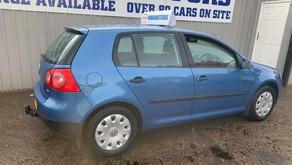 Volkswagen Golf 1.4 petrol £60 per week