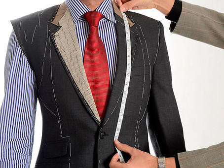 What the different between Custom Suit and off the rack suit?