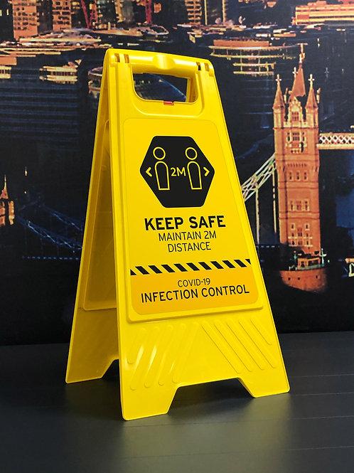Floor Social Distancing Sign