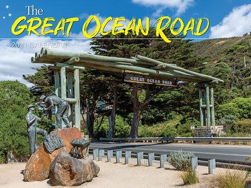 CALENDAR 2021 340X242MM THE GREAT OCEAN ROAD