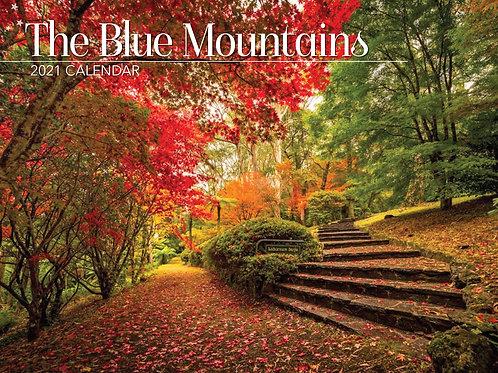 CALENDAR 2021 340X242MM THE BLUE MOUNTAINS