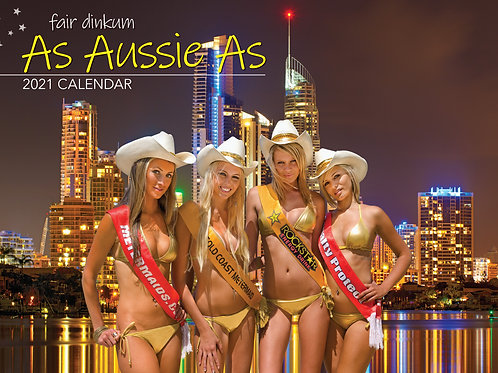 CALENDAR 2021 340X242MM AS AUSSIE AS