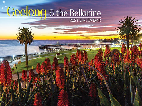 CALENDAR 2021 340X242MM GEELONG & THE BALLARINE