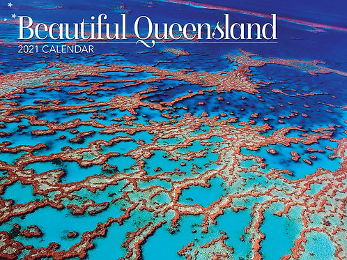 CALENDAR 2021 340X242MM BEAUTIFUL QUEENSLAND