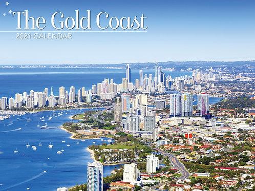CALENDAR 2021 340X242MM THE GOLD COAST