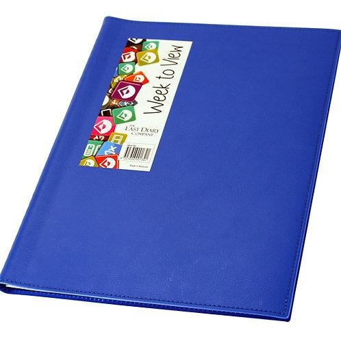 AINSLEY A4 WIRO BOUND WTV BLUE