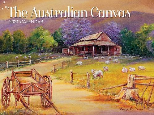 CALENDAR 2021 340X242MM THE AUSTRALIAN CANVAS