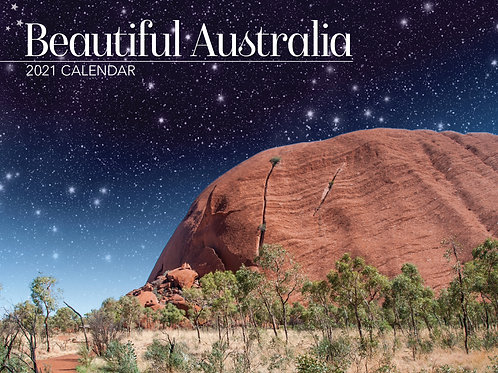 CALENDAR 2021 340X242MM BEAUTIFUL AUSTRALIA