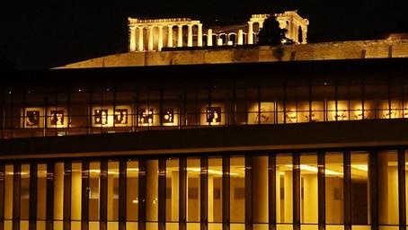 Zwei Welten in Athen