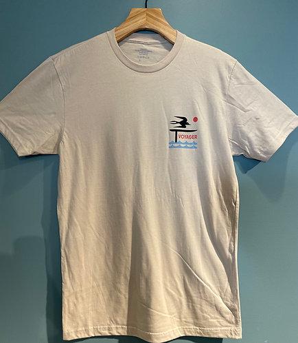 VOYAGER FOILER Cotton T-shirts