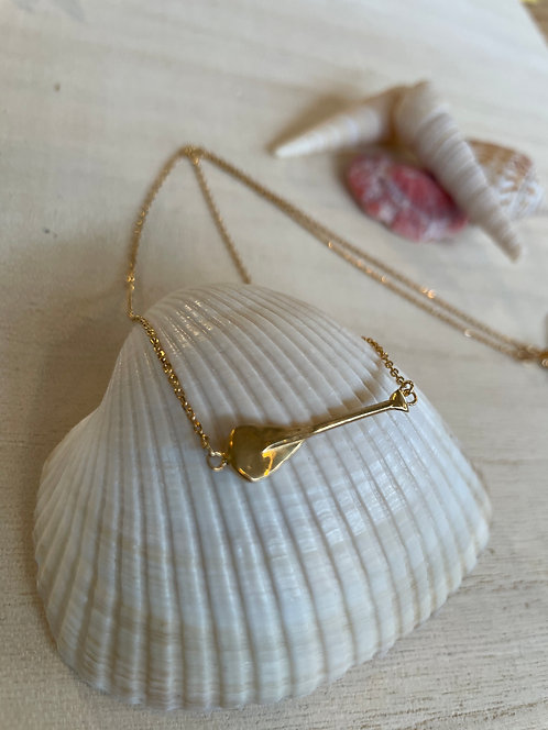PADDLE charm necklace
