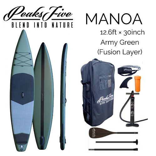 PEAKS 5 MANOA Army Green 12'6ft × 30inch