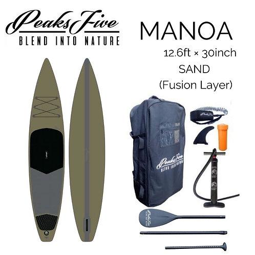 8月中旬新発売 ご予約受付中!PEAKS 5 MANOA SAND 12'6ft × 30inchの複製