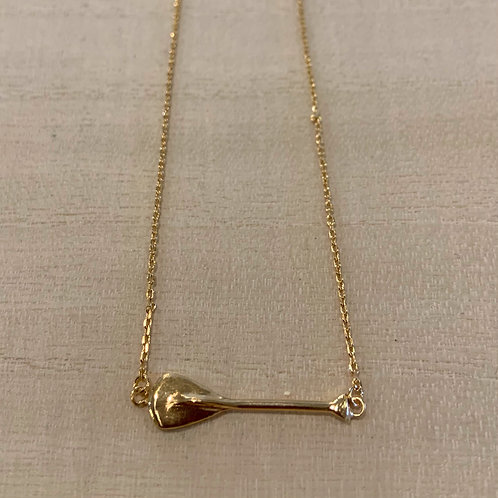 Paddler charm necklace