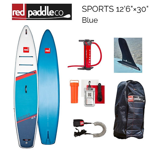 """red paddles SPORTS 12'6"""" × 30"""" Blue 2021年モデル"""