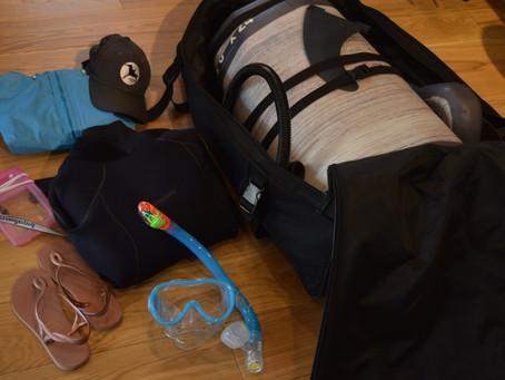 バッグパック一つでSUP Trip!