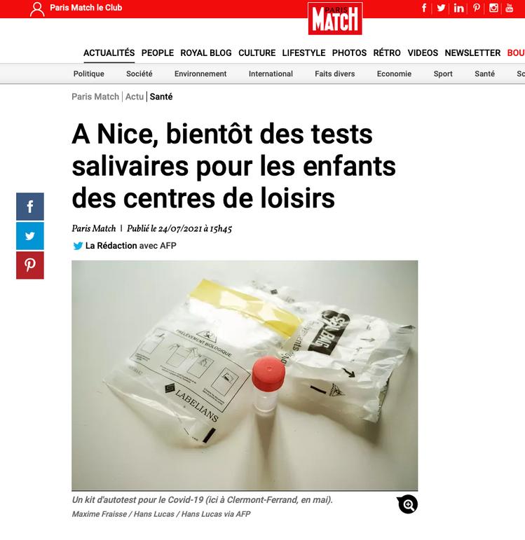 Publication Paris Match