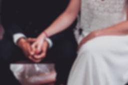 Photo de détail mariage.