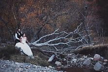 Seance Trash The Dress dans le Puy de Dôme.