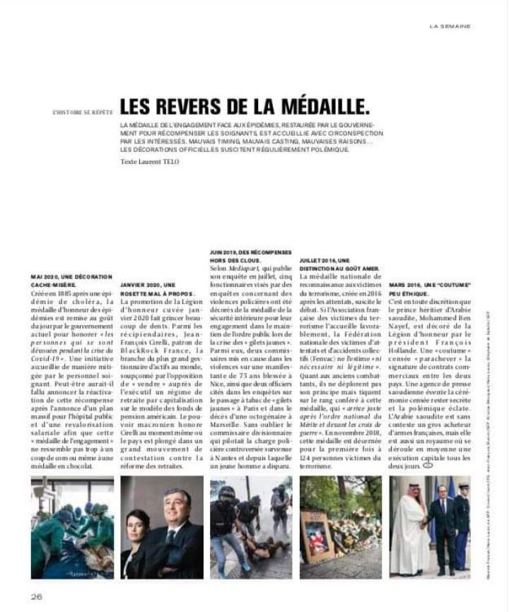Publication Le Monde Mag.