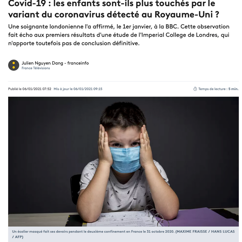 Publication France Info