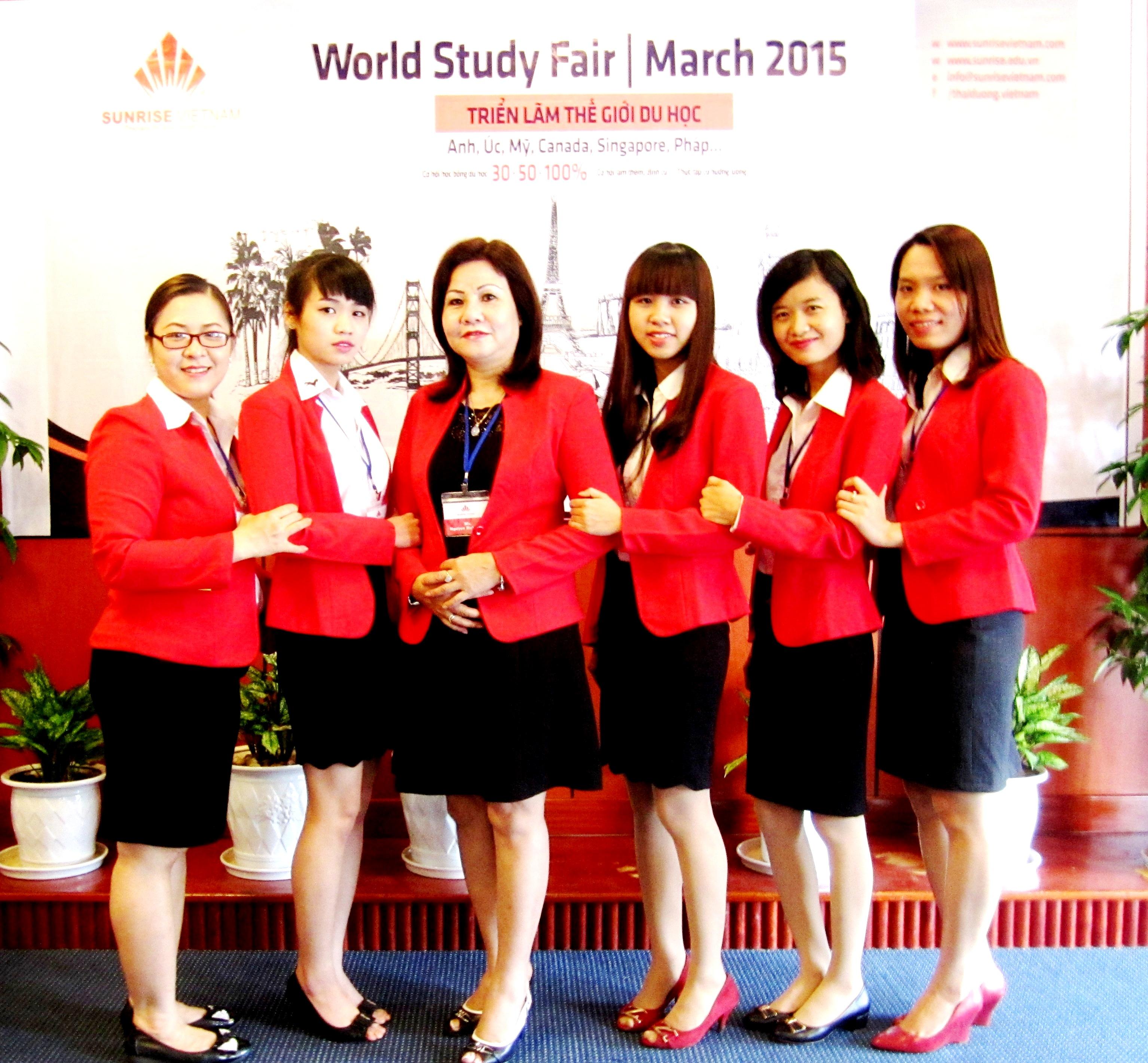 Sunrise Vietnam's female staff