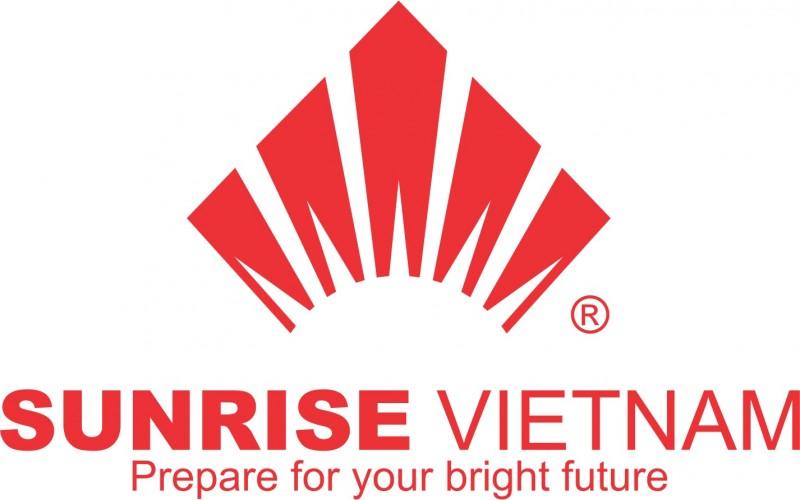 The logo of Sunrise Vietnam
