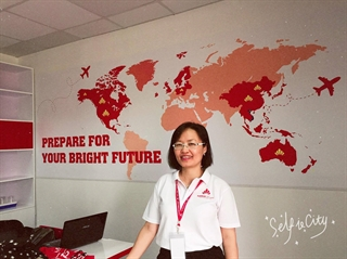 Ms. Dan - CEO of Sunrise Vietnam