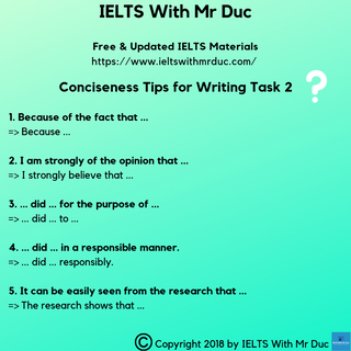 How to become more concise in academic writing?