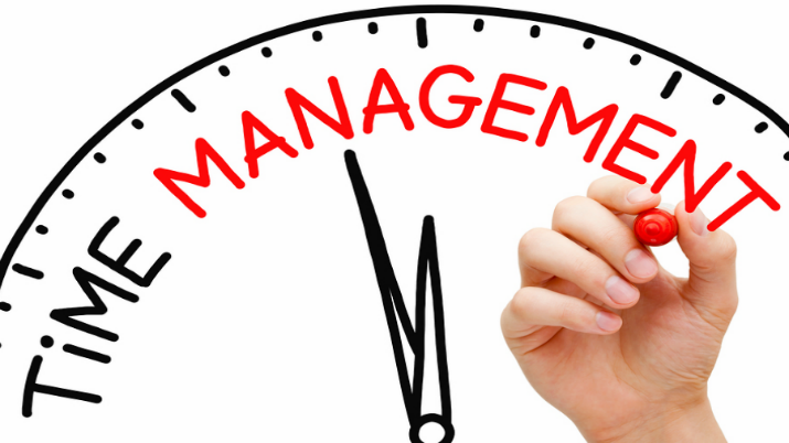 1. Manage time well