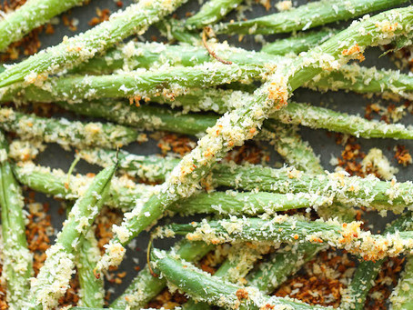 Baked Green Been Fries