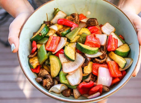 Balsamic Grilled Vegetables - Side Dish