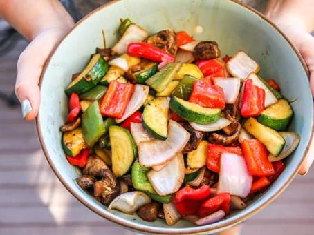 Balsamic Grilled Vegetables - Side Dish