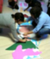Ação educativa com metodologia lúdica - Crialudis