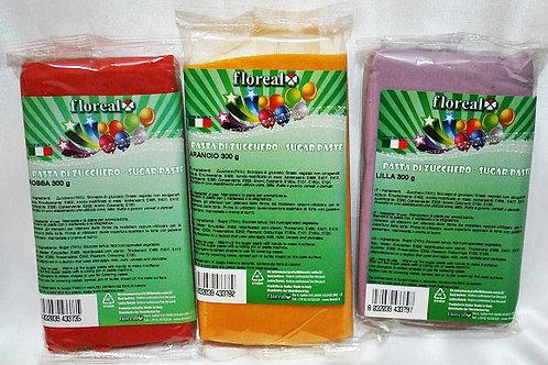 Floreal Pasta di Zucchero colorata da 600 gr